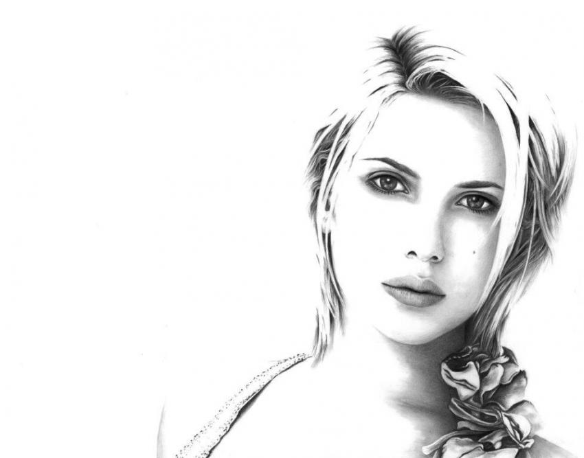 Scarlett Johansson by erikah
